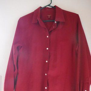 Talbots L/S Button Up Collared Blouse